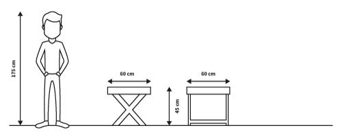 diagramas medidas mesa torino lateral